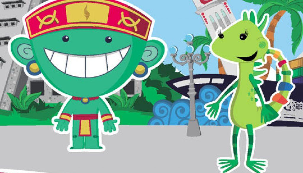 Veracruz-Mascots