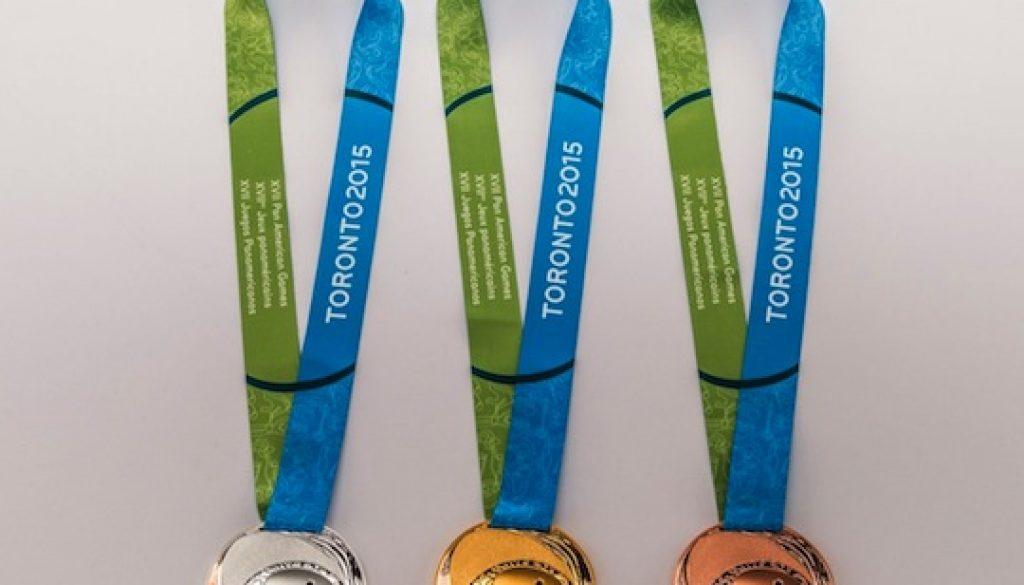 TORONTO 2015 Pan Am Medals