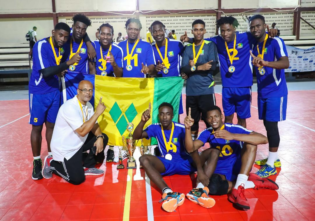 2018 ECVA Senior Men's Champions - St. Vincent and the Grenadines